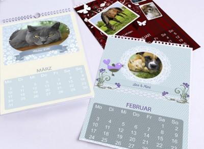gro e foto kalender verlosung von der. Black Bedroom Furniture Sets. Home Design Ideas